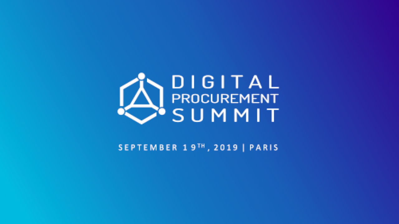 Digital Procurement Summit 2019