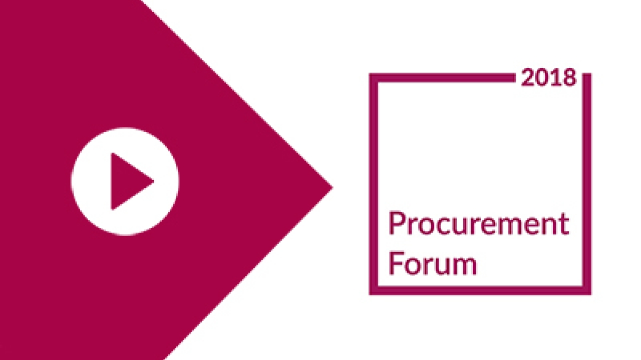 Eventi | Procurement Forum 2018 Sergio Perego SynerTrade Italia
