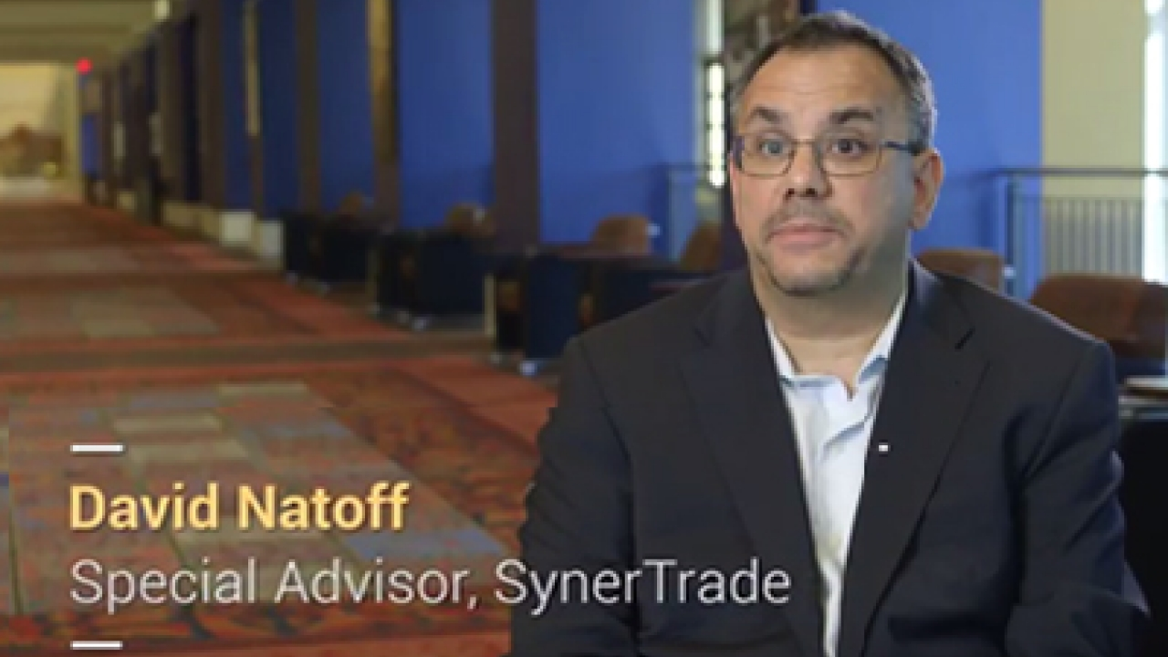 Interview of David Natoff, SynerTrade Special Advisor